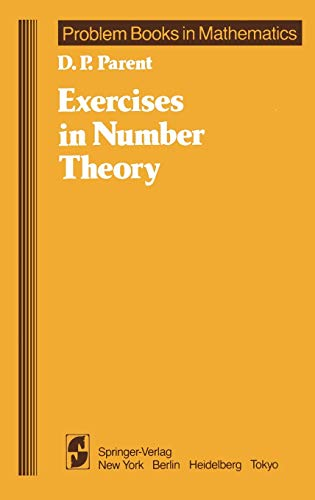 9780387960630: Exercises in Number Theory (Problem Books in Mathematics)