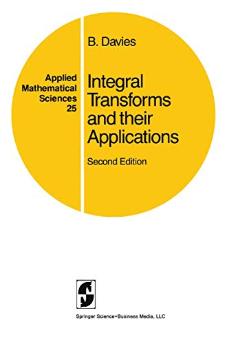 9780387960807: Integral Transforms and Their Applications (Applied Mathematical Sciences)