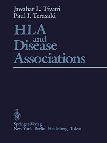 HLA and Disease Associations: Tiwari, J.L., Terasaki,