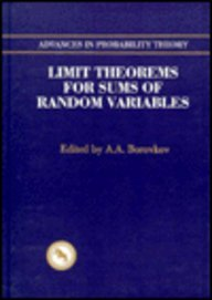Advances in Probability Theory: Limit Theorems for: Borovkov, A.A.