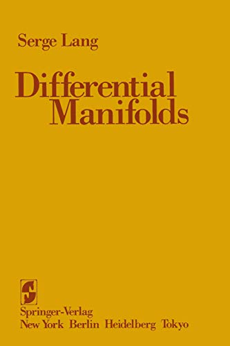 9780387961132: Differential Manifolds