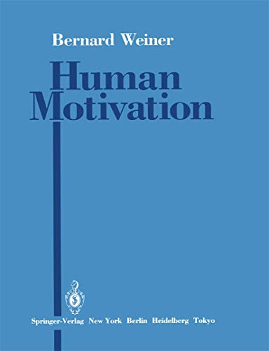 9780387961187: Human Motivation