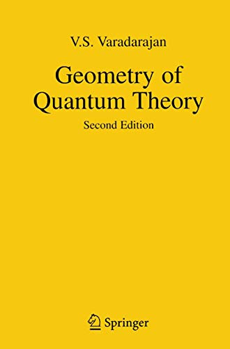 9780387961248: Geometry of Quantum Theory