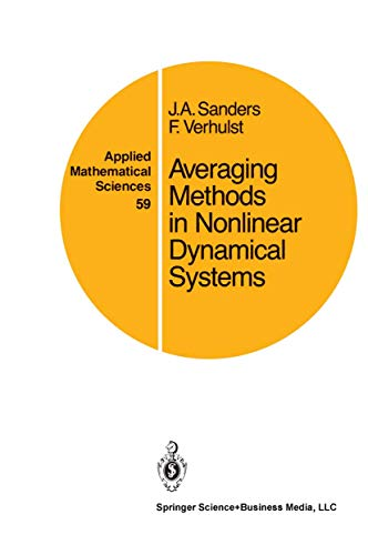 9780387962290: Averaging Methods in Nonlinear Dynamical Systems (Applied Mathematical Sciences)