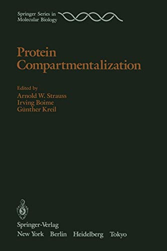 9780387962924: Protein Compartmentalization (Springer Series in Molecular and Cell Biology)
