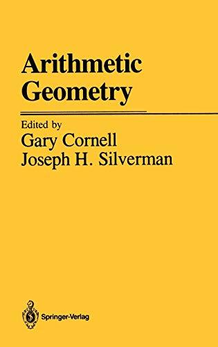 9780387963112: Arithmetic Geometry