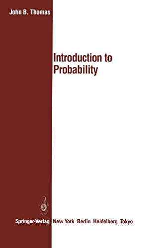 9780387963198: Introduction to Probability (Springer Texts in Electrical Engineering)
