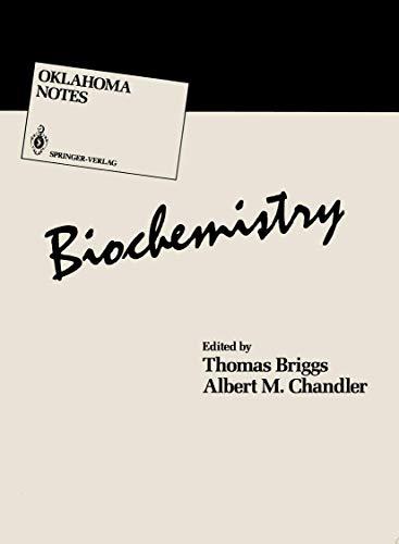 Biochemistry (Oklahoma Notes)