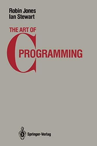 9780387963921: The Art of C Programming