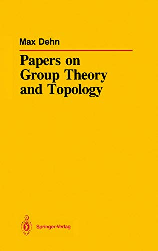 9780387964164: Papers on Group Theory and Topology