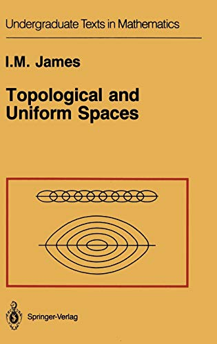 9780387964669: Topological and Uniform Spaces (Undergraduate Texts in Mathematics)
