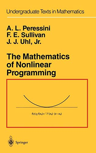 The Mathematics of Nonlinear Programming: Uhl, J. J.,
