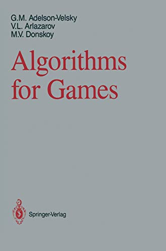 9780387966298: Algorithms for Games