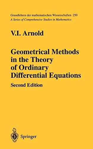 9780387966496: Geometrical Methods In The Theory Of Ordinary Differential Equations