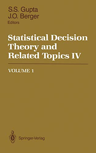 9780387966618: Statistical Decision Theory and Related Topics IV: Volume 1