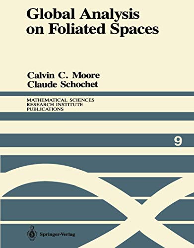 9780387966649: Global Analysis on Foliated Spaces (Mathematical Sciences Research Institute Publications)