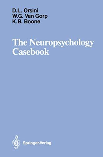 9780387966816: The Neuropsychology Casebook