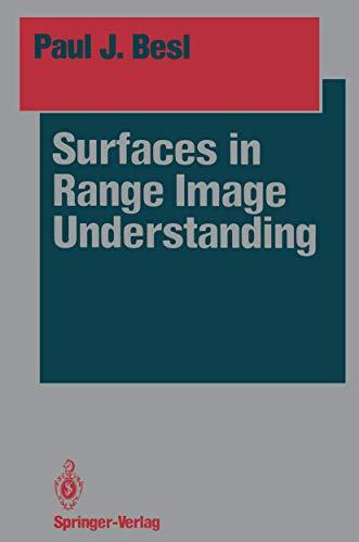 9780387967738: Surfaces in Range Image Understanding (Springer Series in Perception Engineering)