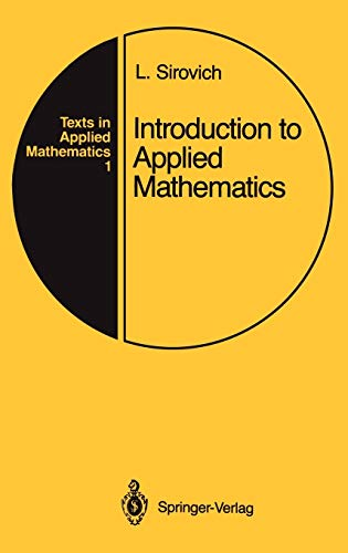 9780387968841: Introduction to Applied Mathematics (Texts in Applied Mathematics)