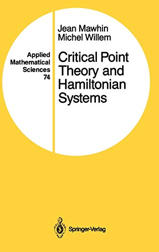 9780387969084: Critical Point Theory and Hamiltonian Systems