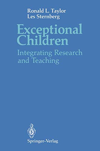 9780387969138: Exceptional Children: Integrating Research and Teaching
