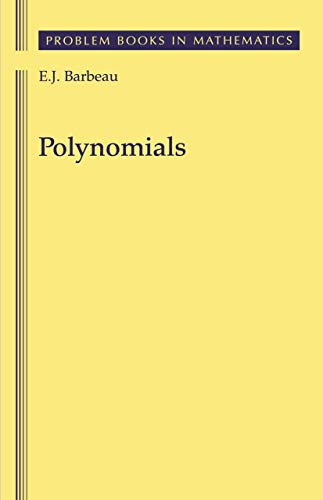 9780387969190: Polynomials