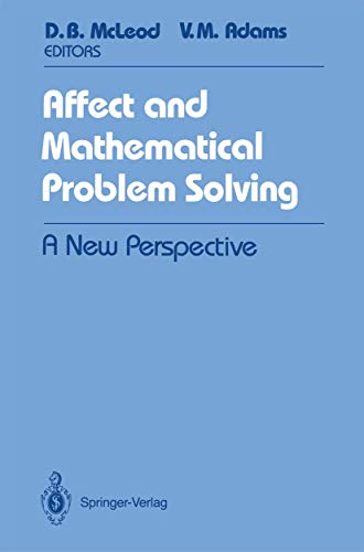 9780387969244: Affect and Mathematical Problem Solving: A New Perspective (Springer Tracts in Modern)