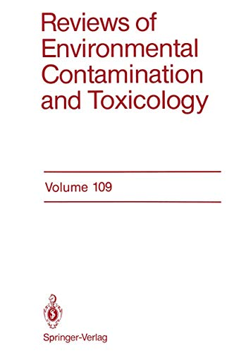 Reviews of Environmental Contamination and Toxicology 109