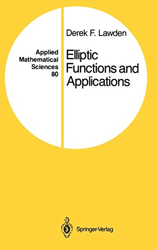 9780387969657: Elliptic Functions and Applications (Applied Mathematical Sciences)
