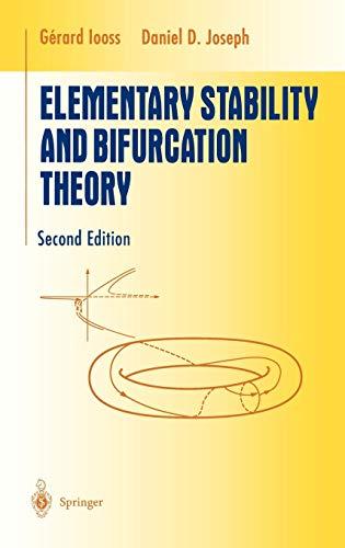 Elementary Stability and Bifurcation Theory: Iooss, Gerard; Joseph,