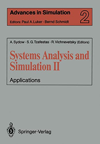 002: Systems Analysis and Simulation II: Applications