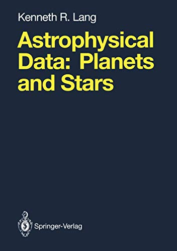Astrophysical Data. Planets and Stars.