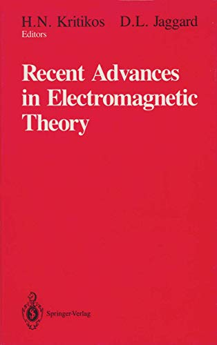 9780387971438: Recent Advances in Electromagnetic Theory