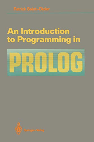9780387971445: An Introduction to Programming in Prolog