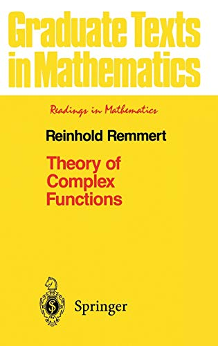 9780387971957: Theory of Complex Functions (Graduate Texts in Mathematics) (v. 122)