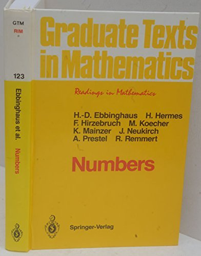 9780387972022: Numbers (Graduate Texts in Mathematics)