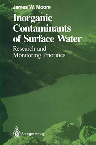 9781461277552: Inorganic Contaminants of Surface Water ...