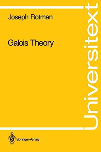 9780387973050: Galois Theory (Universitext)