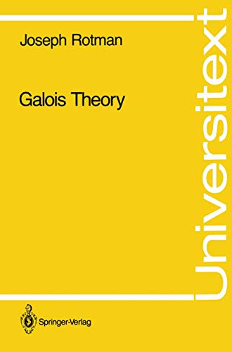 9780387973050: Galois Theory