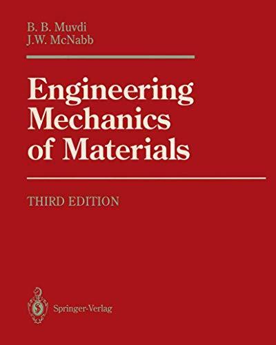 9780387973388: Engineering Mechanics of Materials