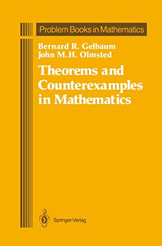 9780387973425: Theorems and Counterexamples in Mathematics (Problem Books in Mathematics)