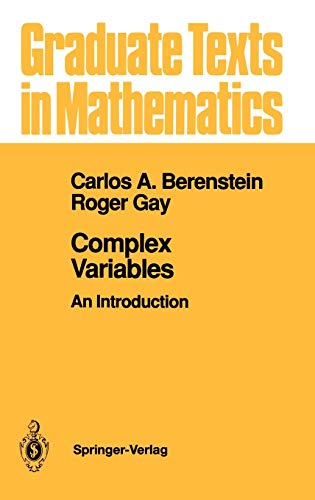 9780387973494: Complex Variables: An Introduction (Graduate Texts in Mathematics)