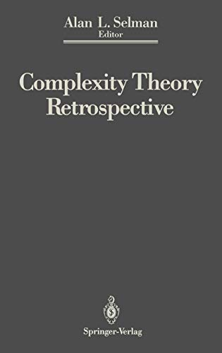 9780387973500: Complexity Theory Retrospective: In Honor of Juris Hartmanis on the Occasion of His Sixtieth Birthday, July 5, 1988 (Lecture Notes in Mathematics; 1424)