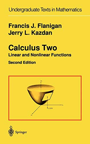 9780387973883: Calculus Two: Linear and Nonlinear Functions (Undergraduate Texts in Mathematics)
