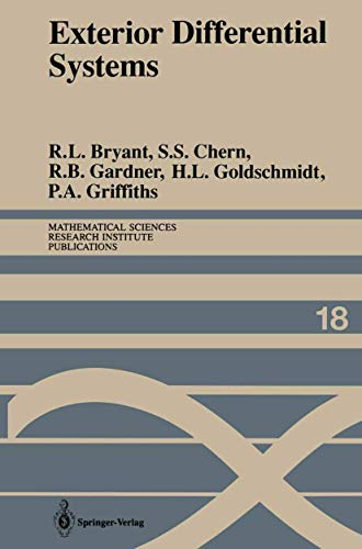 9780387974118: Exterior Differential Systems (Mathematical Sciences Research Institute Publications)