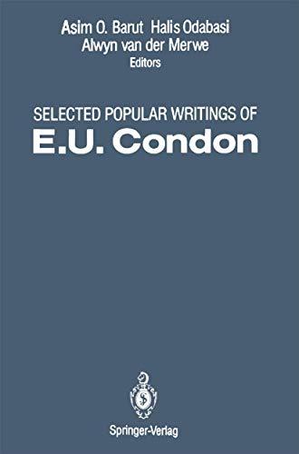 9780387974217: Selected Popular Writings of E.U. Condon