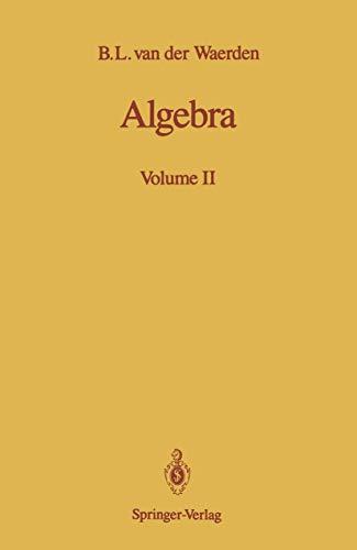 9780387974255: Algebra: Volume II: 2