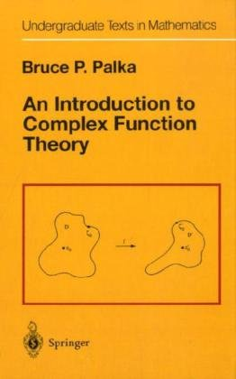 9780387974279: An Introduction to Complex Function Theory (Undergraduate Texts in Mathematics)