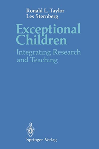 9780387974460: Exceptional Children: Integrating Research and Teaching