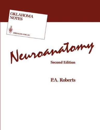 9780387974774: Neuroanatomy (Lecture Notes in Biomathematics)